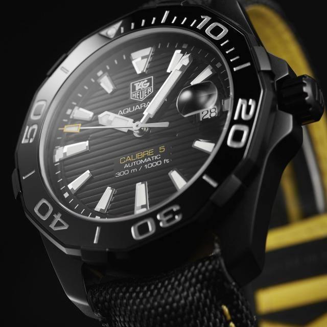 Tag heuer grand carrera calibre 17 rs black dial for Tag heuer grand carrera mercedes benz sls limited edition price