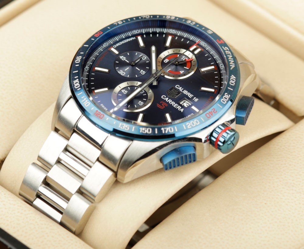 Tag heuer carrera calibre 1887 red bull limited for Tag heuer grand carrera mercedes benz sls limited edition price