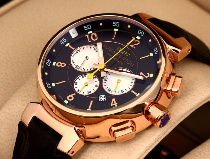 Louis-Vuitton Tambour Essentials Tambour LV 277 Watch