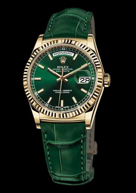 Rolex Oyster Day-Date Green
